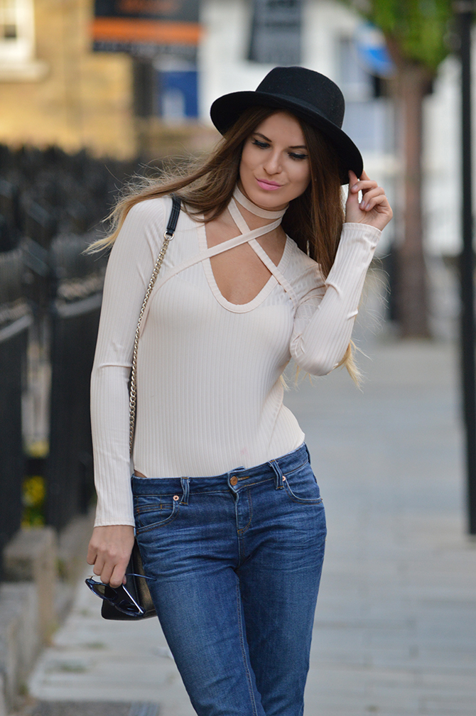 misguided-choker-bodysuit-fashion-blogger-london-streetstyle