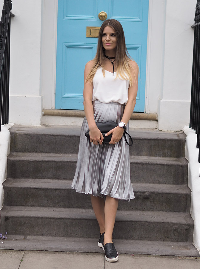 how-to-wear-metallic-skirt-missy-empire-fashion-blogger
