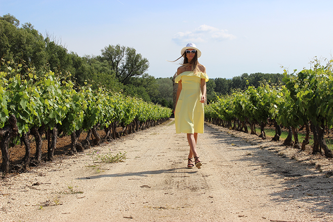 asos-yellow-dress-provence-vineyard