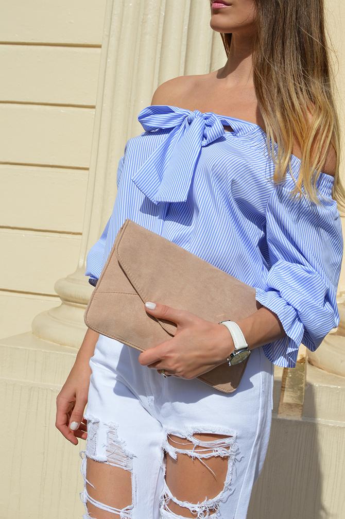 lasula-off-shoulder-top-striped-blue