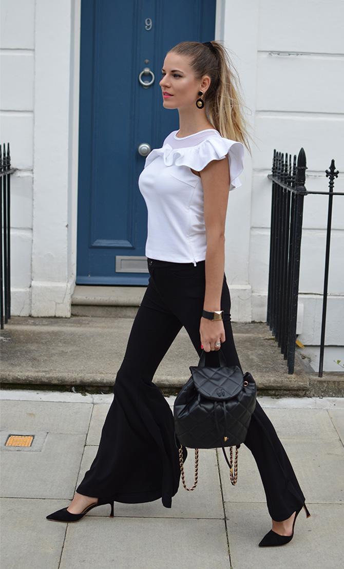 black-flared-trousers-miss-sixty-backpack