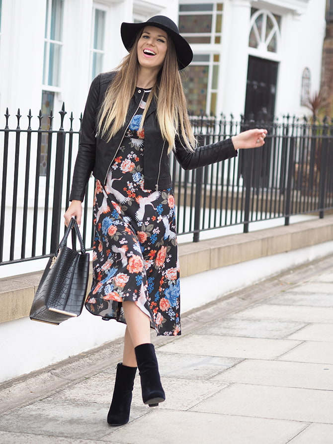 dorothy-perkins-midi-floral-dress-fashion-blogger-london