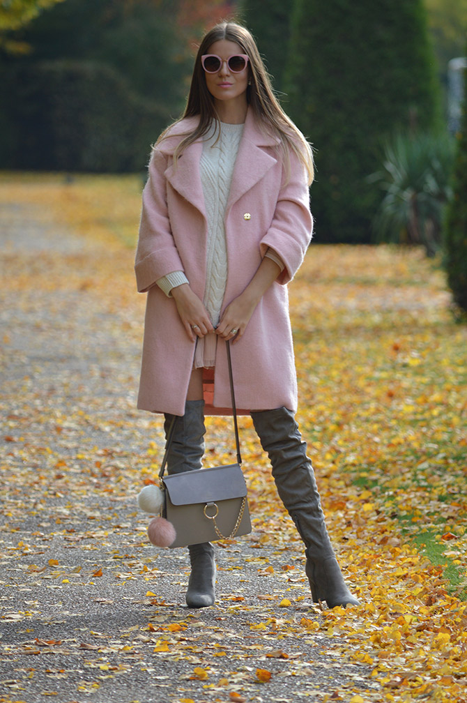 pink-coat-grey-over-knee-boots-autumn-outfit-fashion-blogger-london-2