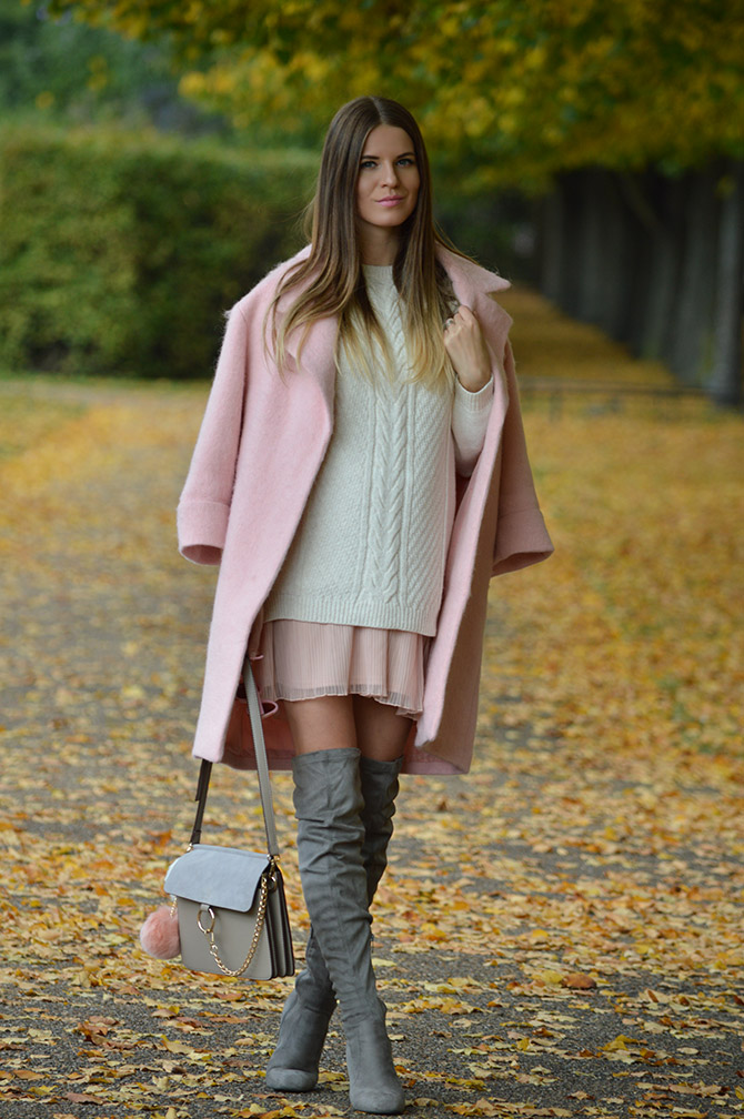 pink-coat-grey-over-knee-boots-autumn-outfit-fashion-blogger-london-4