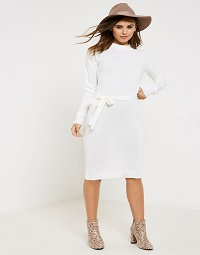 b6fbc672 Knitted Dress Outfit - Fashion Addicted