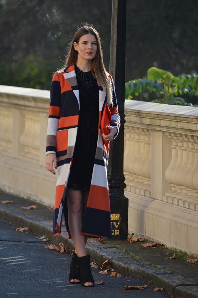 dorothy-perkins-orange-stripe-coat-party-lace-dress-2