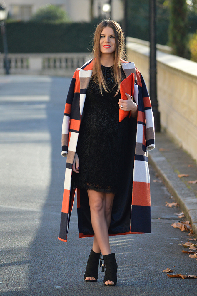 dorothy-perkins-orange-stripe-coat-party-lace-dress-3