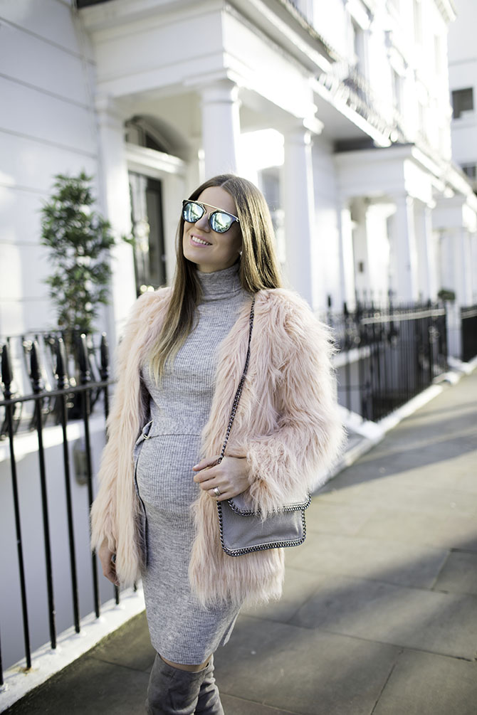 pretty-little-thing-pink-faux-fur-coat-fashion-blogger-london-2
