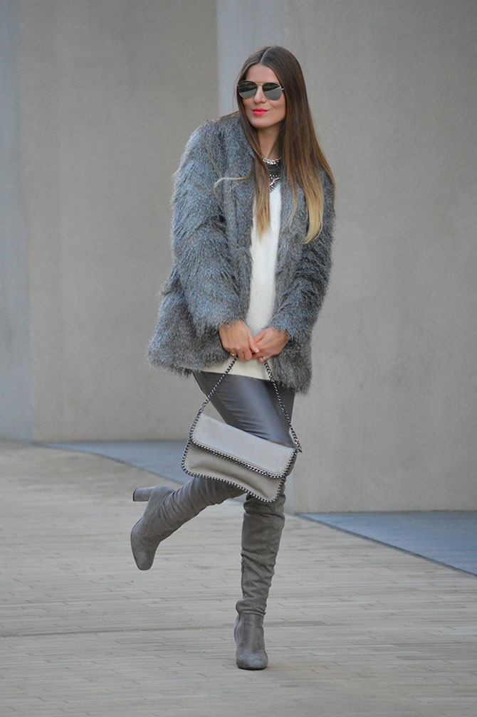 grey-faux-fur-coat-fashion-blogger-london