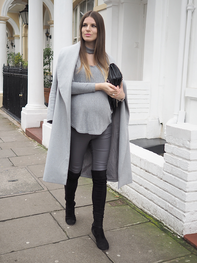 choker-blouse-maternity-outfit