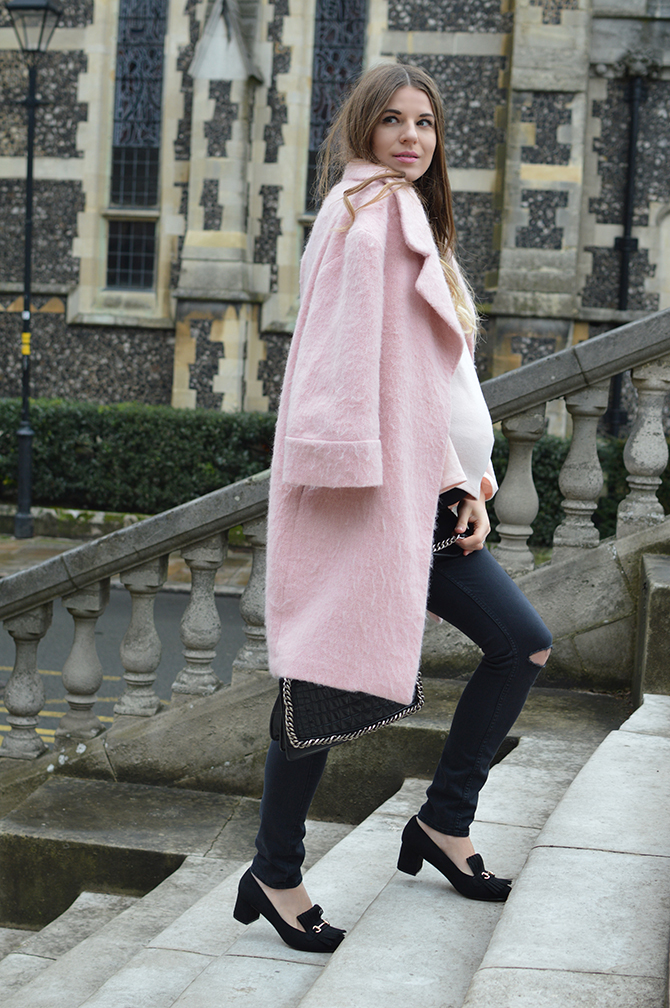 pink-coat-fringe-loafers