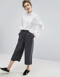 Monki Culotte Trousers grey
