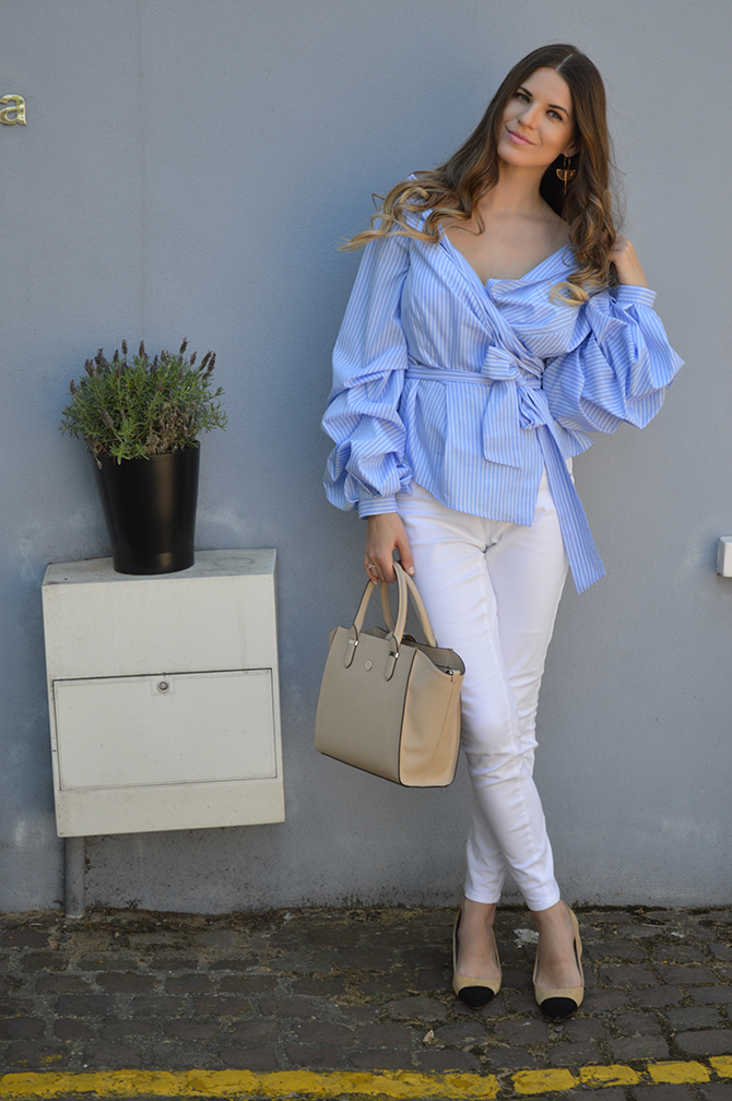 asos-off-shoulder-striped-blouse-white-jeans-outfit-fashion-blogger-london