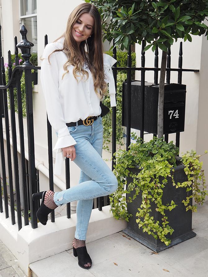 Deichmann-mules-gucci-marmont-belt-fashion-blogger-london