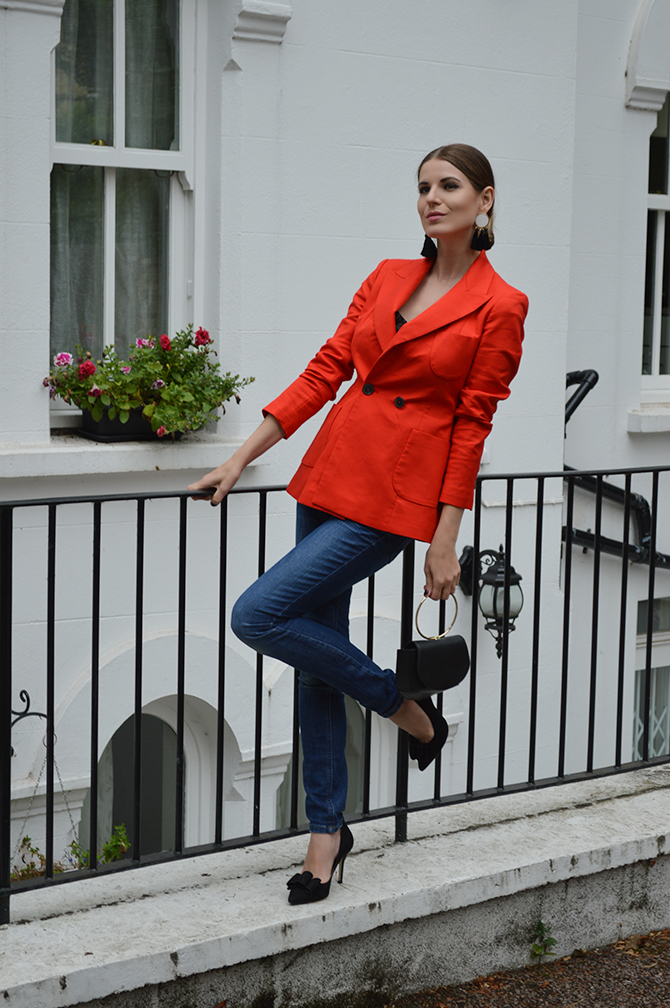 Powerful-Red-Blazer-tassel-earrings-ring-bag-fashion-blogger-london