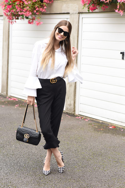 frill-hem-trousers-gucci-marmont-bag-belt-fashion-blogger-london