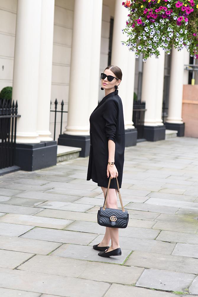 tuxedo-dress-gucci-marmont-bag