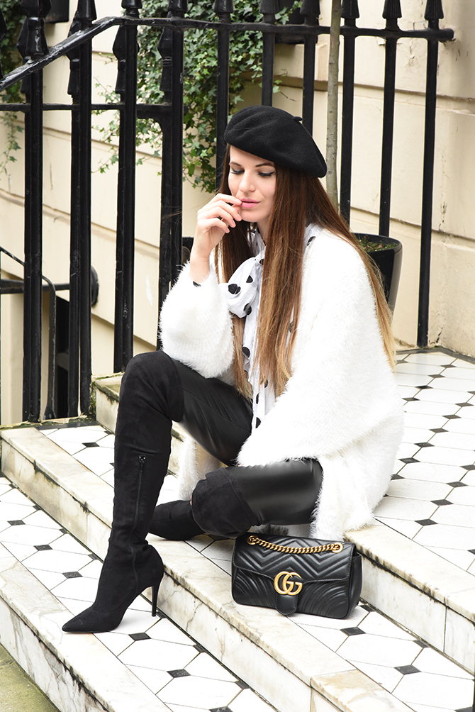 how-to-wear-a-beret-gucci-marmont-bag-fashion-blogger-london