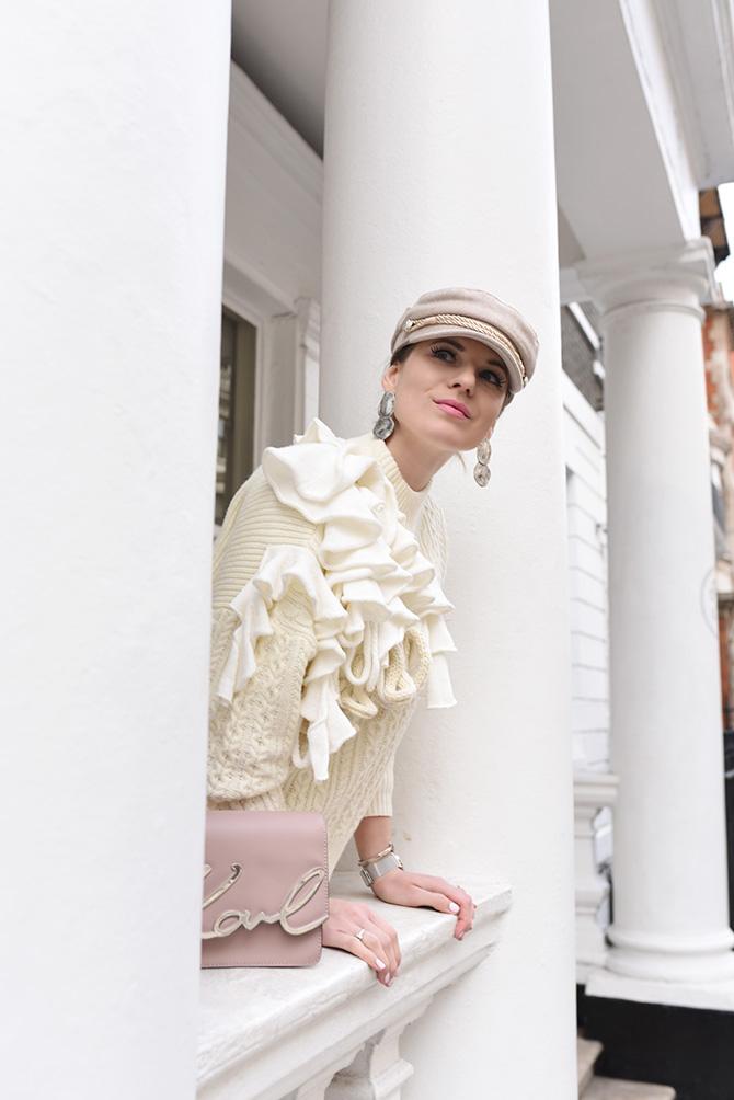 karl-lagerfeld-signature-bag-baker-boy-hat-spring-trends