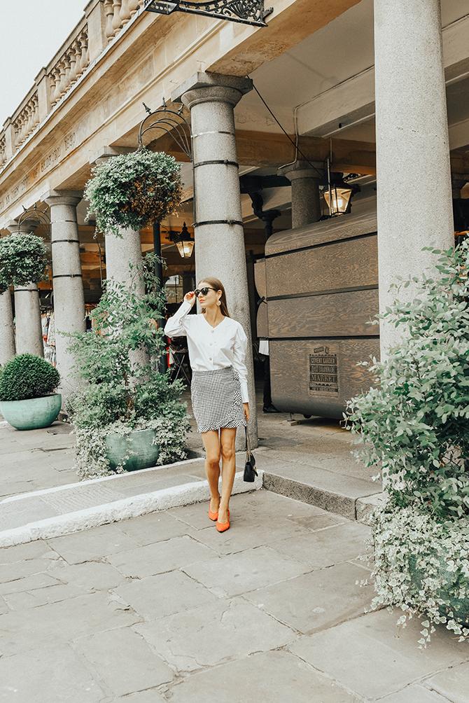 how-to-wear-mini-skirt-power-shoulder-blouse-gucci-bag-fashion-blogger-london
