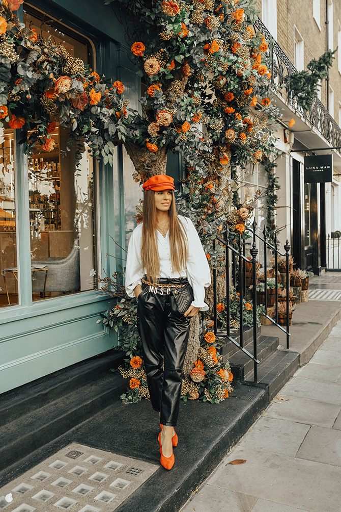 moshinoxhm-gold-belt-leather-trousers-fashion-blogger-london
