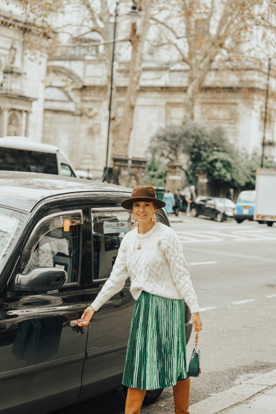 how-to-wear-emerald-green-skirt-fashion-blogger-london-3