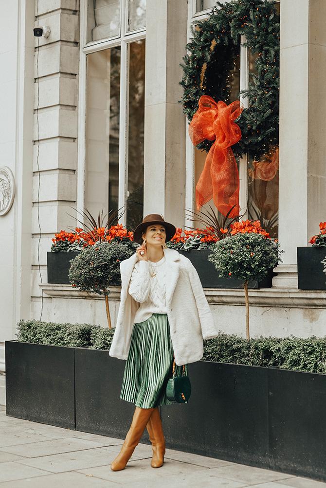 how-to-wear-emerald-green-skirt-fashion-blogger-london-4