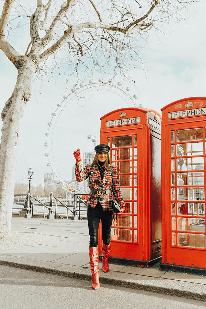 how-to-wear-tartan-blazer-gucci-handbag-good-american-jeans-baker-hat-fashion-blogger-london-4