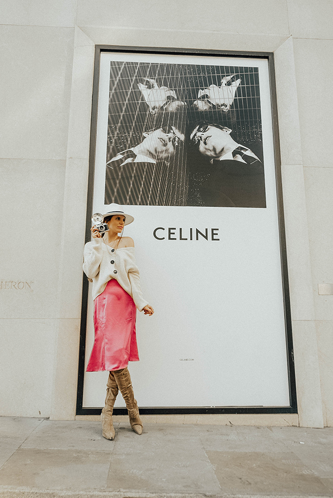 fashion-trends-2019-slip-satin-skirt-fashion-blogger-london-celine