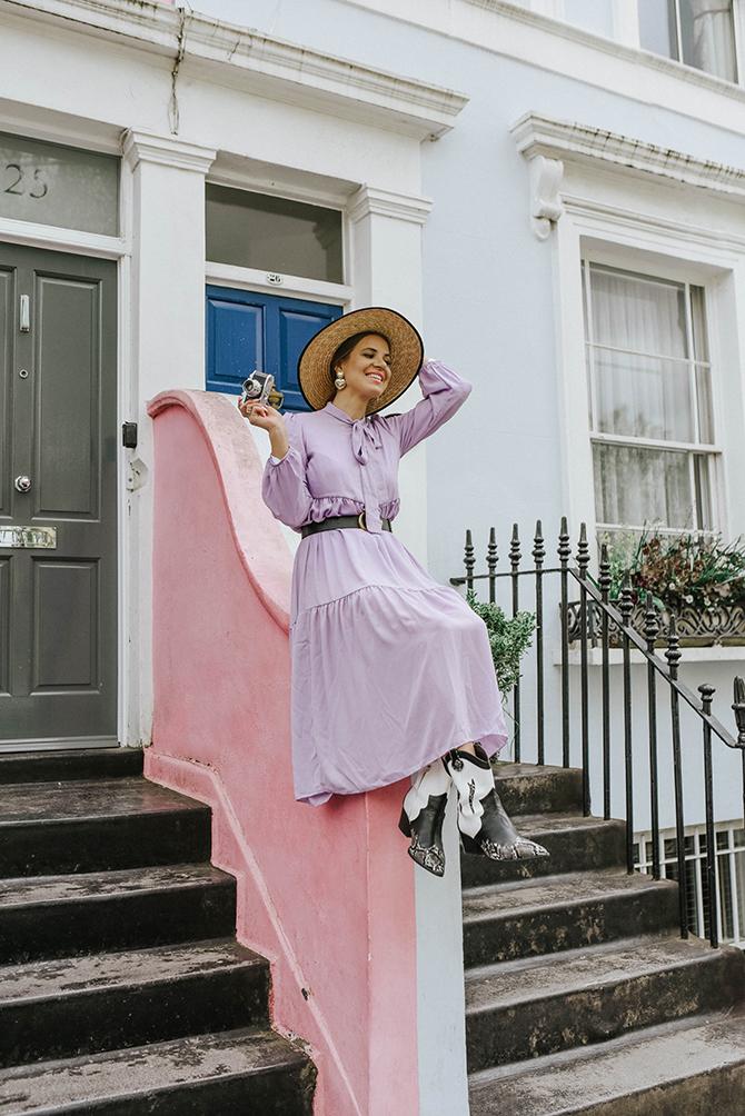 london-fashion-blogger-lilac-dress-nottinghill-2