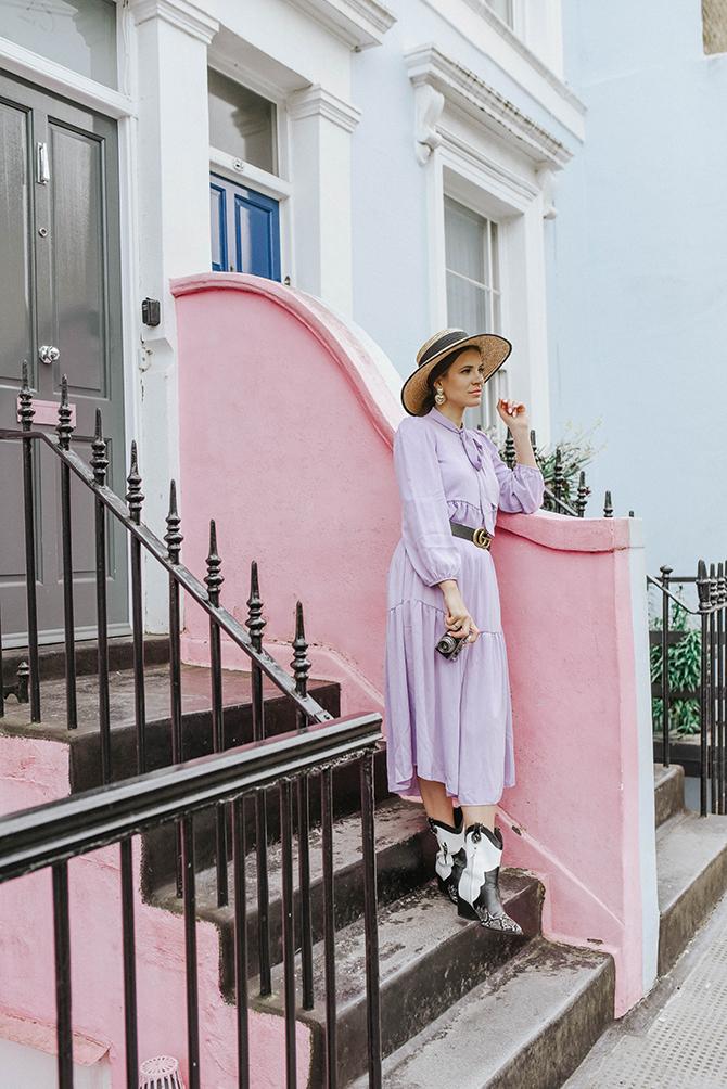 london-fashion-blogger-lilac-dress-nottinghill