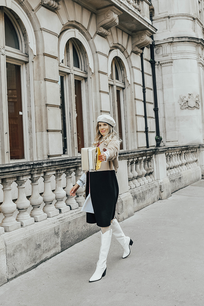 karl-lagerfeld-ss2020-collection-colour-block-coat-bag-fashion-blogger-london