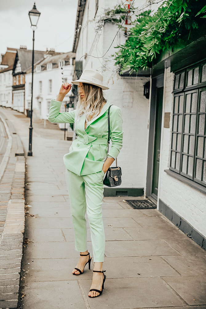green-suit-women-new-look-fashion-blogger-london-gucci-marmont-bag-harrow-on-the-hill-2