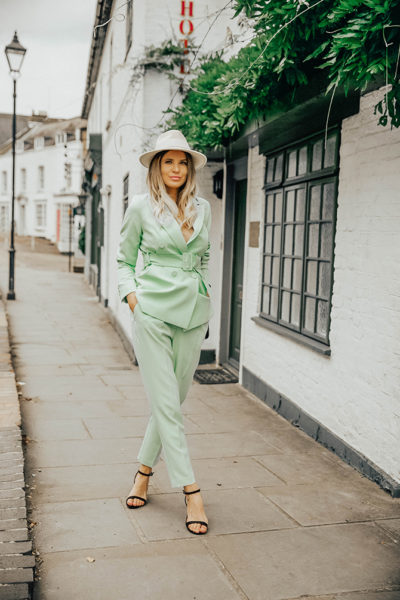green-suit-women-new-look-fashion-blogger-london-gucci-marmont-bag-harrow-on-the-hill
