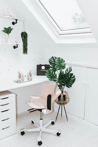 loft-conversion-velux-windows-before-and-after-office-space-flokk-chair-london-blogger